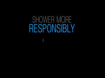 Sprchujte se zodpovědně